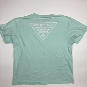 Columbia PFG Men's T-shirt Size XL Green SI2